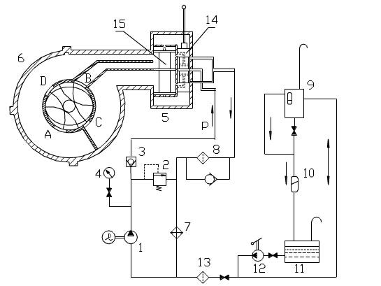 压力表控制油泵接线图