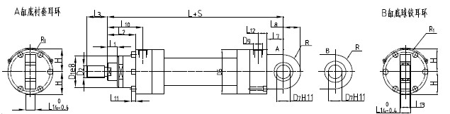 重载液压缸图片