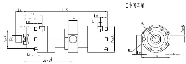 cd250b差动重载液压缸图片