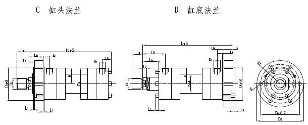 cd250d差动重载液压缸图片